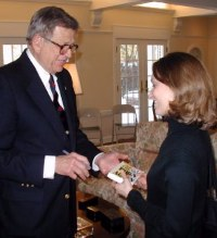 Charles W. Colson with Marie