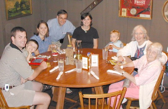 They 'came together to break bread,' this time with Aunt Odile