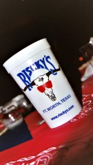 Riscky's Barbeque, Fort Worth, 'A legend in Texas Barbeque since 1927'