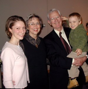 Marie and Ian with Mary and Dr. Ross Rumph