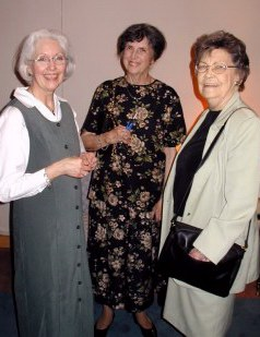 Greeting friends and neighbors...