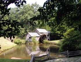 Scenic Mabry Mill on the Blue Ridge Parkway, August '06